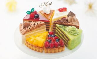 聖夜のきらめき!☆ 8種のアソートケーキ