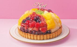 9種フルーツのタルト