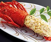伊勢海老と海老芋のベシャメル西京味噌ソース焼