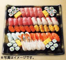 迎春 皆で食べる握り寿司盛合わせ ※写真はイメージです。