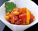 鶏肉と豆のラタトゥイユの画像