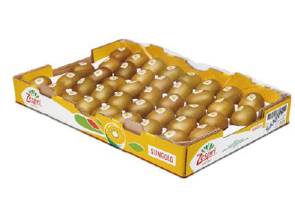 ニュージーランド産 ゼスプリ サンゴールドキウイ 25〜30玉入 1箱