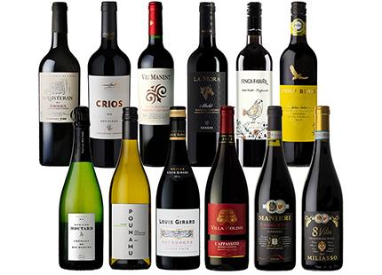コルドンヴェール クレマン入り世界の厳選ワイン 12本セット 750ml×12